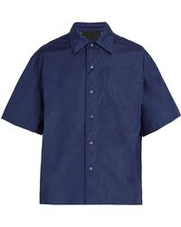 Prada - Short-sleeved Shirt - Lyst