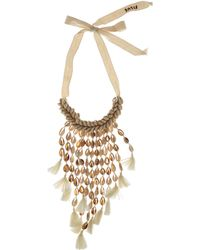 Figue - Oceane Shell And Tassel Necklace - Lyst