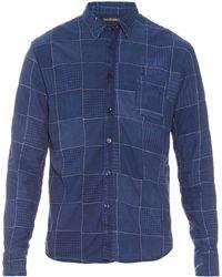 Longjourney   Vintage Patchwork Shirt   Lyst