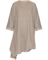 Yohji Yamamoto Regulation - Oversized Cotton-jersey Sweater Dress - Lyst