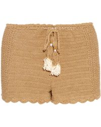 She Made Me - Oh Girl Crochet Shorts - Lyst