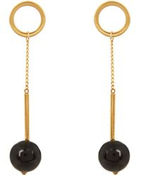 Marni - Horn Ball-drop Earrings - Lyst