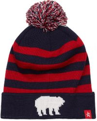 Perfect Moment - Polar Pompom Beanie Hat - Lyst