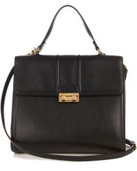Lanvin - Jiji Large Leather Bag - Lyst