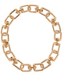 Eddie Borgo - Fame Link Gold-plated Necklace - Lyst