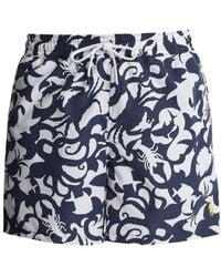 Polo Ralph Lauren - Underwater-print Swim Shorts - Lyst