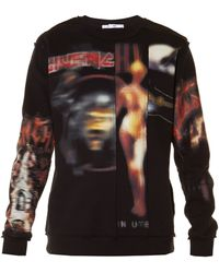 Givenchy - Heavy Metal-print Crew-neck Sweatshirt - Lyst