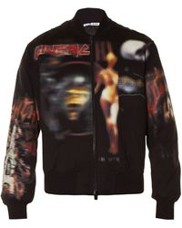 Givenchy - Heavy Metal-print Bomber Jacket - Lyst