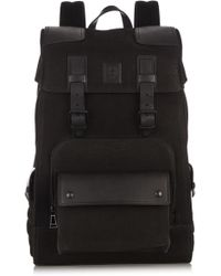 Belstaff - Tourmaster Leather Backpack - Lyst