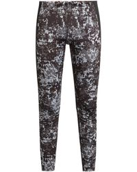 Peak Performance - Camouflage-print Base-layer Ski Leggings - Lyst