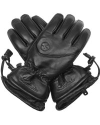 Lacroix - Initial Leather Ski Gloves - Lyst