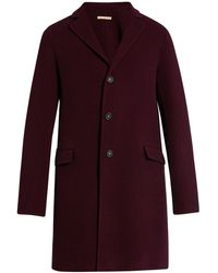 Massimo Alba - Hound's-tooth Single-breasted Wool Coat - Lyst