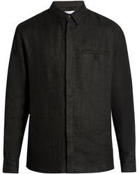 Fanmail - Uniform Long-sleeved Linen Shirt - Lyst