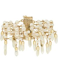 Rosantica By Michela Panero - Pascoli Pearl And Mother-of-pearl Bracelet - Lyst