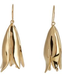 Aurelie Bidermann - Demetria Gold-plated Earrings - Lyst