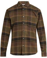 Inis Meáin   Wool-blend Flannel Shirt   Lyst