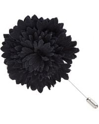Lanvin flower pin - Black 3JXlcLgib