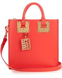 Sophie Hulme - Albion Square Leather Tote - Lyst