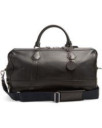 Dunhill - Boston Leather Weekend Bag - Lyst