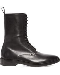 Balenciaga - Lace-up Leather Boots - Lyst