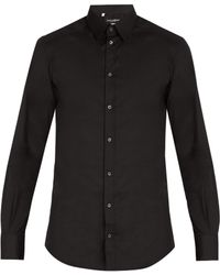 Dolce & Gabbana - Johnny Cotton Blend Shirt - Lyst