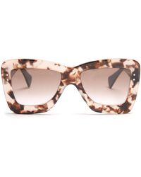 ROKSANDA - X Cutler And Gross Square-frame Acetate Sunglasses - Lyst