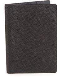 Smythson - Panama Leather Passport Holder - Lyst