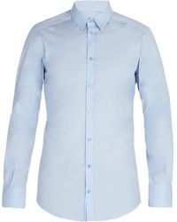 Dolce & Gabbana - Johnny Cotton-blend Poplin Shirt - Lyst