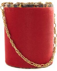 Rebecca de Ravenel - Lolli Velvet Bag - Lyst