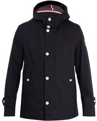 Moncler Gamme Bleu   Hooded Cotton-canvas Raincoat   Lyst