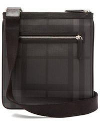 Burberry - London Check Cross-body Bag - Lyst