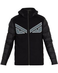 Fendi - Monster-appliqué Quilted Hooded Jacket - Lyst