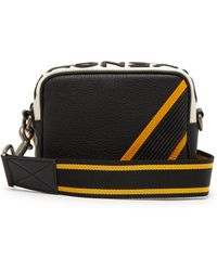Givenchy Reversible Logo Leather Crossbody Bag in Black for Men - Lyst f9132efd24