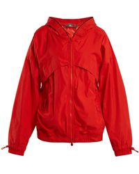 adidas By Stella McCartney - Hooded Nylon Windbreaker Jacket - Lyst