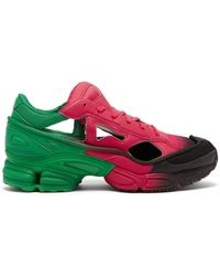 427f9e6c14d8 adidas By Raf Simons - Replicant Ozweego Mesh And Leather Trainers - Lyst
