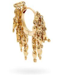 Maria Tash - 18kt Gold Chain Tassel Single Earring - Lyst