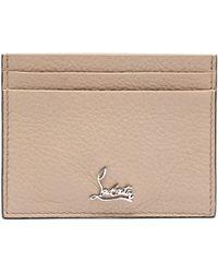 Christian Louboutin Kios Logo Leather Cardholder