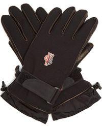 Moncler Grenoble - Technical Fleece-lined Gloves - Lyst