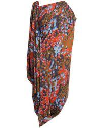 Vivienne Westwood - Fetzen Camouflage-print Toga Dress - Lyst