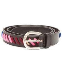 Zitty whipstitch belt - Black Isabel Marant nNNOuLdy8
