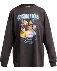 Balenciaga - Speedhunters Cotton Long Sleeve T Shirt - Lyst