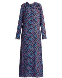 Marni - Geometric-print Maxi Dress - Lyst