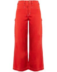 Bliss and Mischief - Painter High-waist Flared Jeans - Lyst