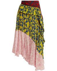 Preen Line - Isabella Asymmetric Tiered Skirt - Lyst