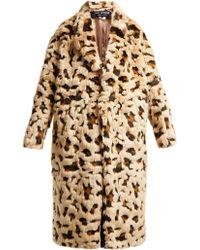 Junya Watanabe - Leopard Print Faux Fur Coat - Lyst