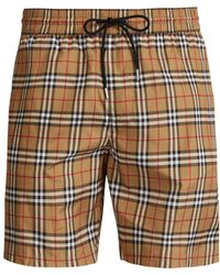 Burberry - Vintage Check Swim Shorts - Lyst