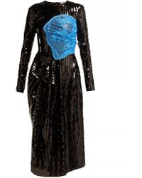 857ecec3769c Preen By Thornton Bregazzi - Stephanie Sequinned Panelled Midi Dress - Lyst