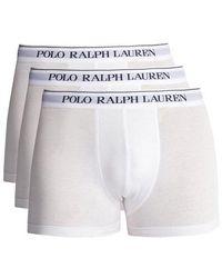 Polo Ralph Lauren - Set Of Three Logo Embroidered Briefs - Lyst