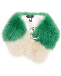Fendi   F-buckle Fur Scarf   Lyst