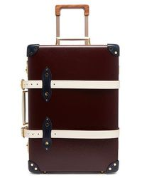 """Globe-Trotter - - X The Goring 20"""" Suitcase - Womens - Burgundy White - Lyst"""